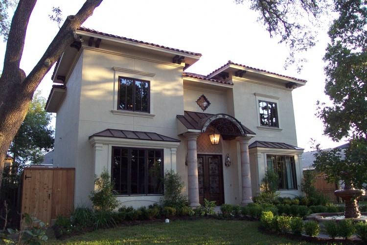 Award Winning Bellaire Showcase Home 2004 by Watermark Builders, Mediterranean with clay tile roof imported from Spain