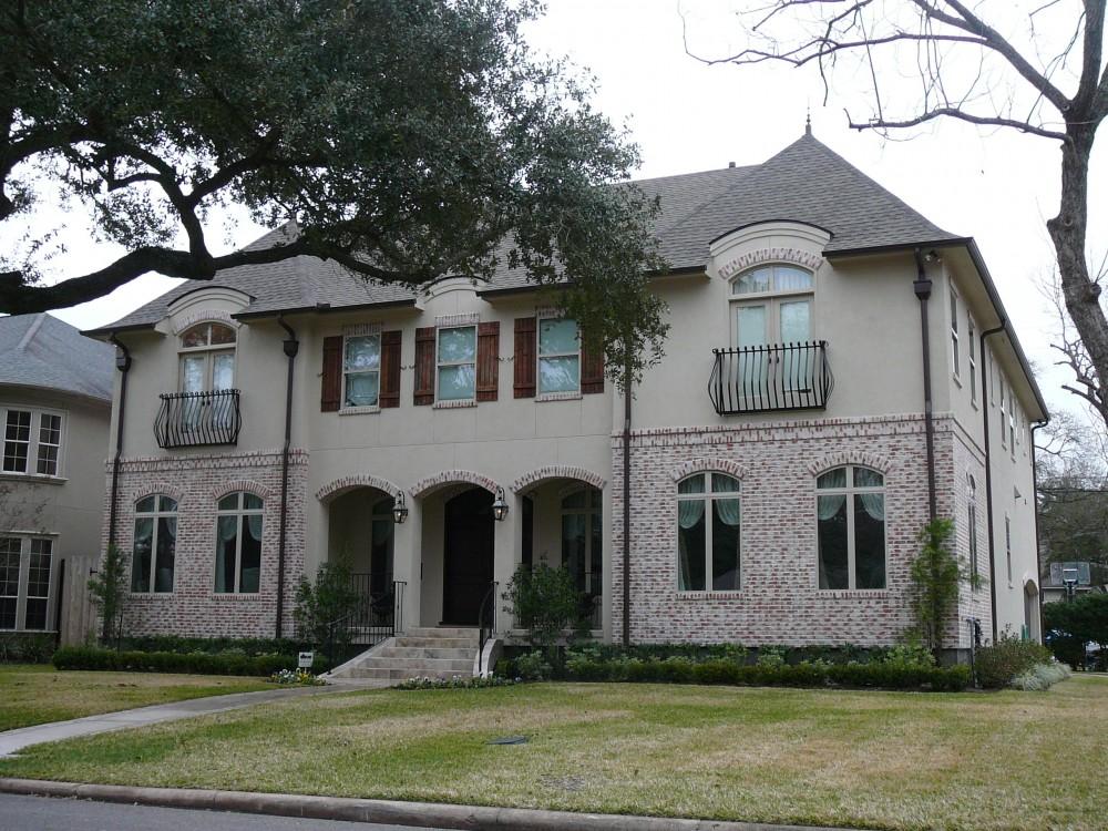 Award-winning custom built homes by Watermark Builders in Bellaire Texas