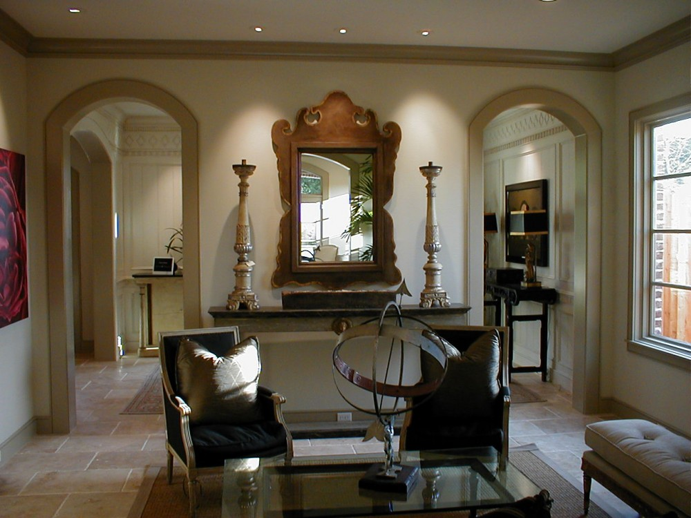 Bellaire Showcase 2002 sitting room with arched doorways recessed ...