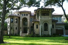 Custom built homes by award-winning Watermark Builders serving Memorial Park Texas