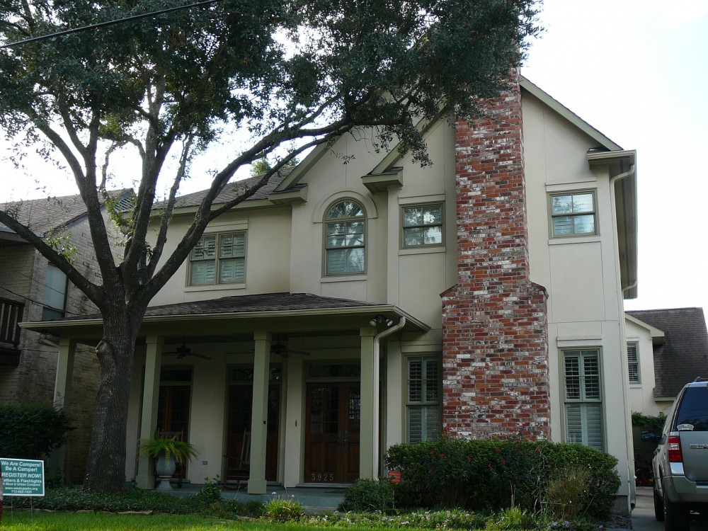 Custom built house by award-winning Watermark Builders serving Bellaire Texas