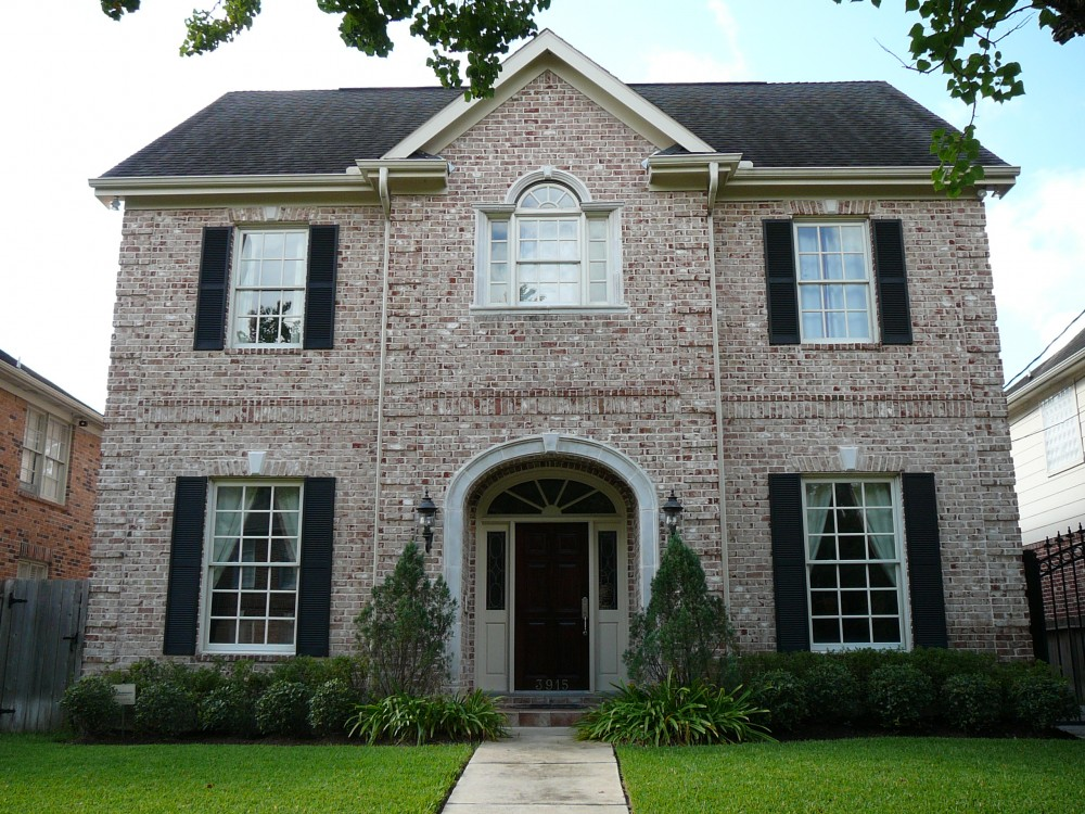 Custom built house by award-winning Watermark Builders serving Memorial Park Texas
