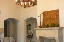 Custom built luxury house by award-winning Watermark Builders founded by Gary Lee in Bellaire Texas