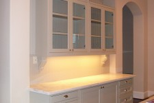 River Oaks in Houston, Texas - home built by Watermark Builders custom kitchen cabinetry