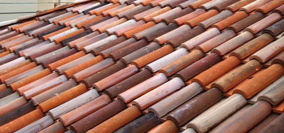 Home Builder Watermark Homes with Authentic Clay Tile Roof