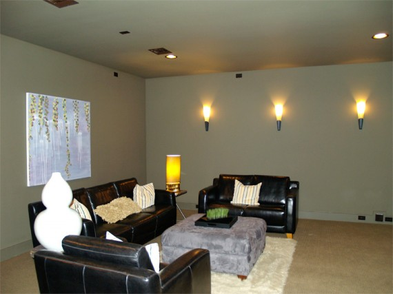 Home Builder Watermark Homes with Dedicated Media Room