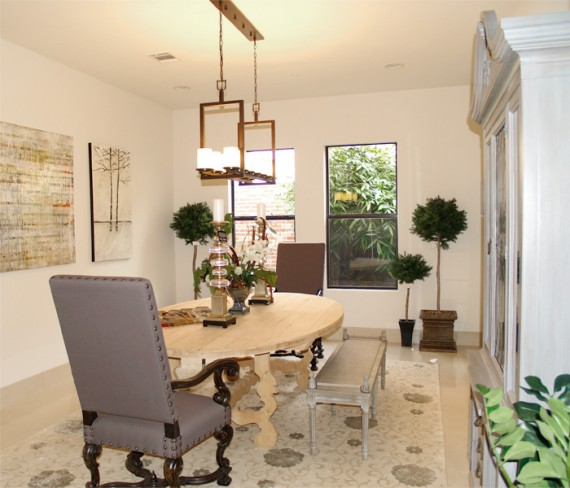 Home Builder Watermark Homes with Dining Room