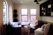 Home Builder Watermark Homes with Entrance Sitting Room