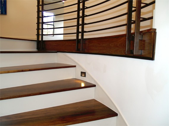 Home Builder Watermark Homes with Stairwell Detail